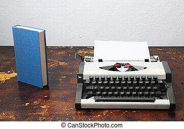 Vintage Travel Typewriter