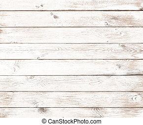 old vintage white wood background - Vintage white old wood...