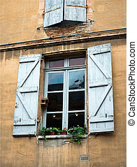 old vintage window