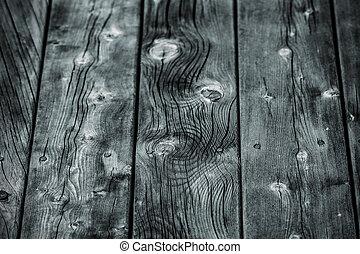 Old vintage wood background - Old wood plank background