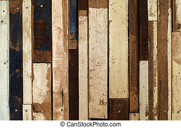 Old vintage wooden wall.