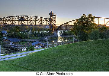 Old Walking Bridge and Park