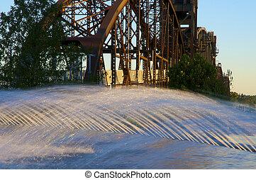 Old Walking Bridge