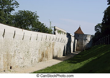 old wall and tower 2