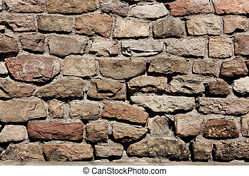 Old wall as background