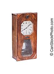 Old wall clock.