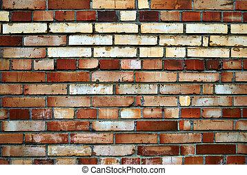 Old wall of brick.