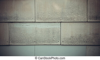 Old wall of slate as background