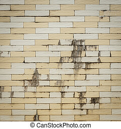 Old wall tile texture background
