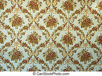 Old Wallpaper - old fashioned wallpaper