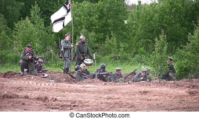 old war reconstruction
