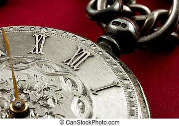 Old watch, time concept