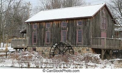 Old water mill in Waterloo, Ontario