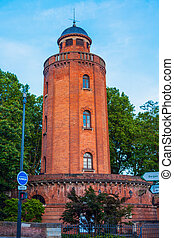 Old water tower in Toulouse