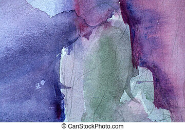 old watercolor background