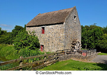Old watermill in Bunratty Ireland