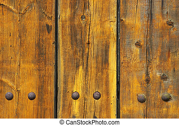wooden planks - Old weathered and worn wooden planks