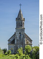 Old Weathered Church
