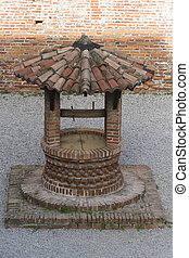 old well in the castle