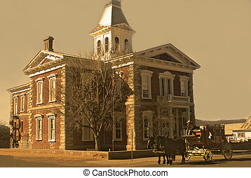 Old West Courthouse