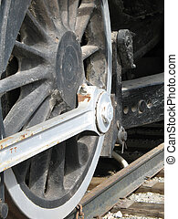 old wheel train