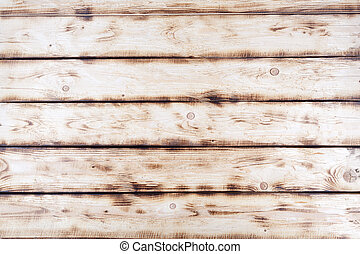 Old white and blue wooden textured background