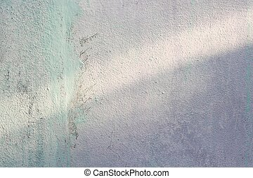 Old white cement wall