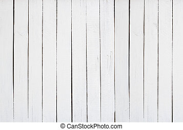 old white wood texture wall background in vintage with copy space, top view of floor- can used to show produce and goods for advertisment