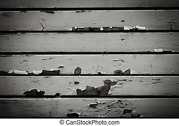 Old white wood wall background