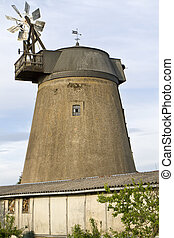 Old windmill in East Germany