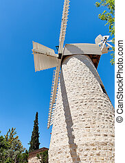 Old windmill in Jerusalem