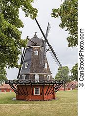 Old windmill in the Copenhagen