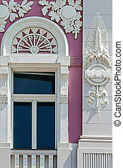 Old window from Timisoara, Romania 1