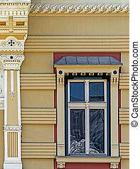 Old window from Timisoara, Romania 4