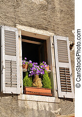 Old window in Annecy