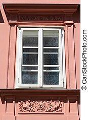 Old window in Bratislava