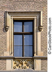 old window medieval
