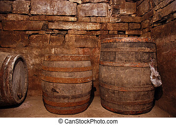 Old Wine Cellar - My family wine cellar.