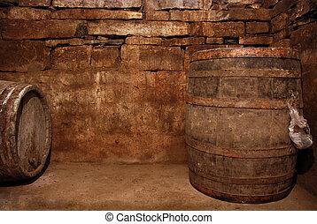 Old Wine Cellar - My family wine cellar.