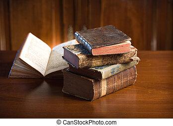 Old wisdom. - Beautiful antique books in very elegant ...
