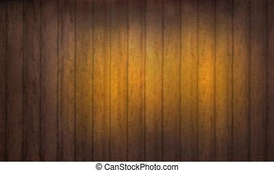 Old wood background. Blurred background