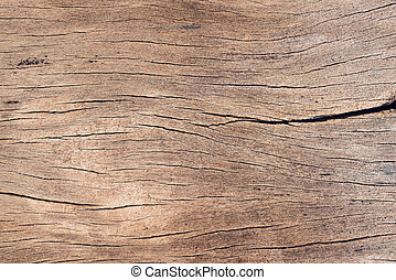 Old wood board, copy space wooden texture pattern background