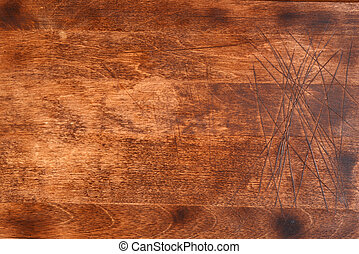 old wood cutting board background