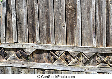 Old wood fence texture background