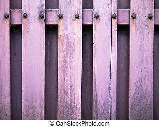 Old wood panel
