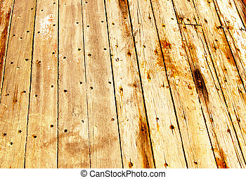 Old Wood Panel With Pattern and Texture 2