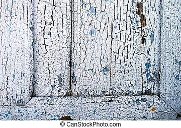 old wood plank textured peeling paint