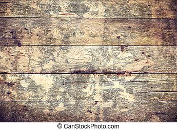 Old Wood Texture Background. Grunge wooden oak plank.