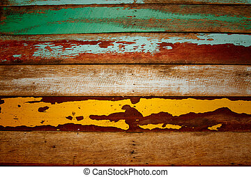 old wood use for background