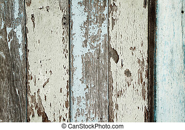 Old wood wall and chipping color as the background